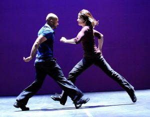 Akram Khan and Juliette Binoche