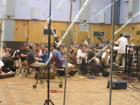 Conducting in Abbey Road Studio