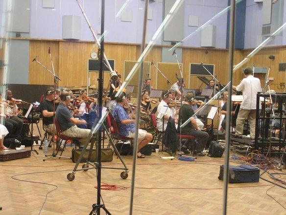 Conducting in Abbey Road Studio